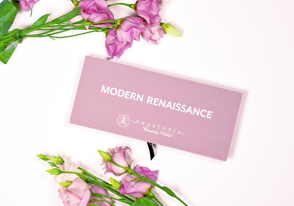 Modern Renaissance : review de la nouvelle palette d'Anastasia B.H