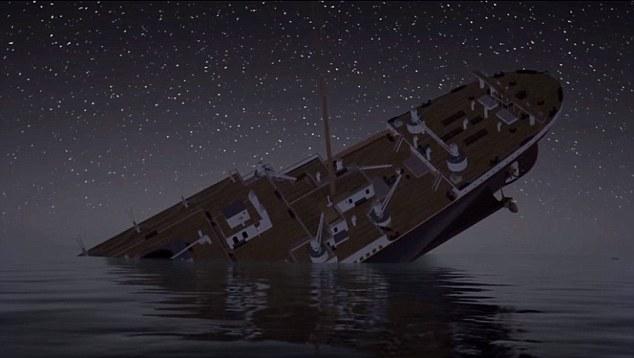 Titanic Rivivi L39affondamento In Un Video4 Blitz Quotidiano