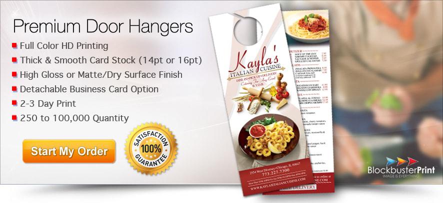 Door Hanger Printing Service - Print Door Hangers Online - Order