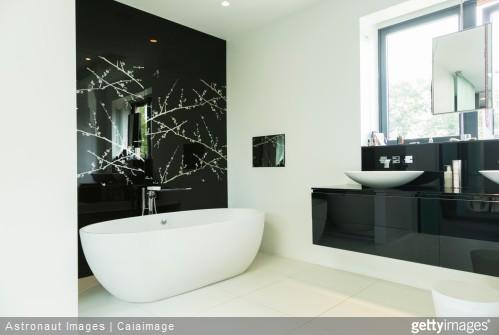 amenagement salle de bain - salle de bains eau calcaire