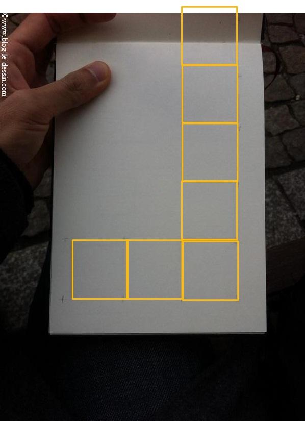 La mesure du nombre de carré de hauteur
