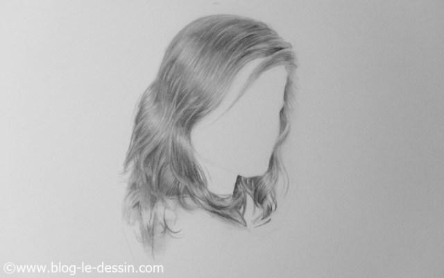 dessiner cheveux realistes final