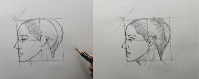 apprendre a dessiner etape par etape les finitions