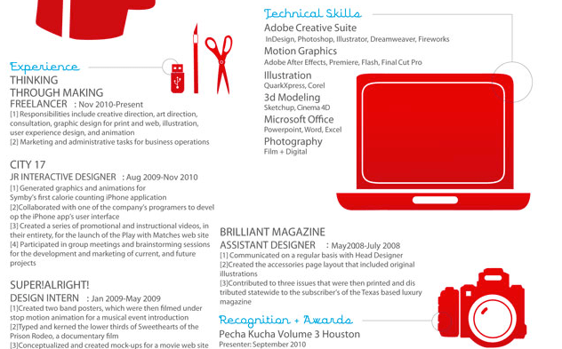 adobe illustrator comment faire un cv