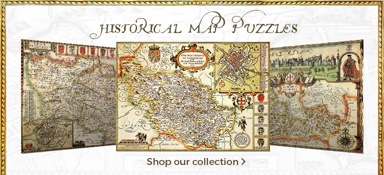 Historic Map Jigsaws Collection