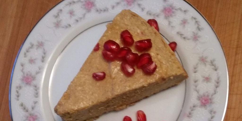 Pumpkin Ricotta Stovetop Cheesecake