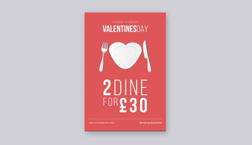 Free Valentine\u0027s Day Templates to Download - Print  Marketing Blog