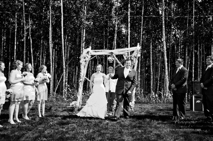 fairbanks wedding couple