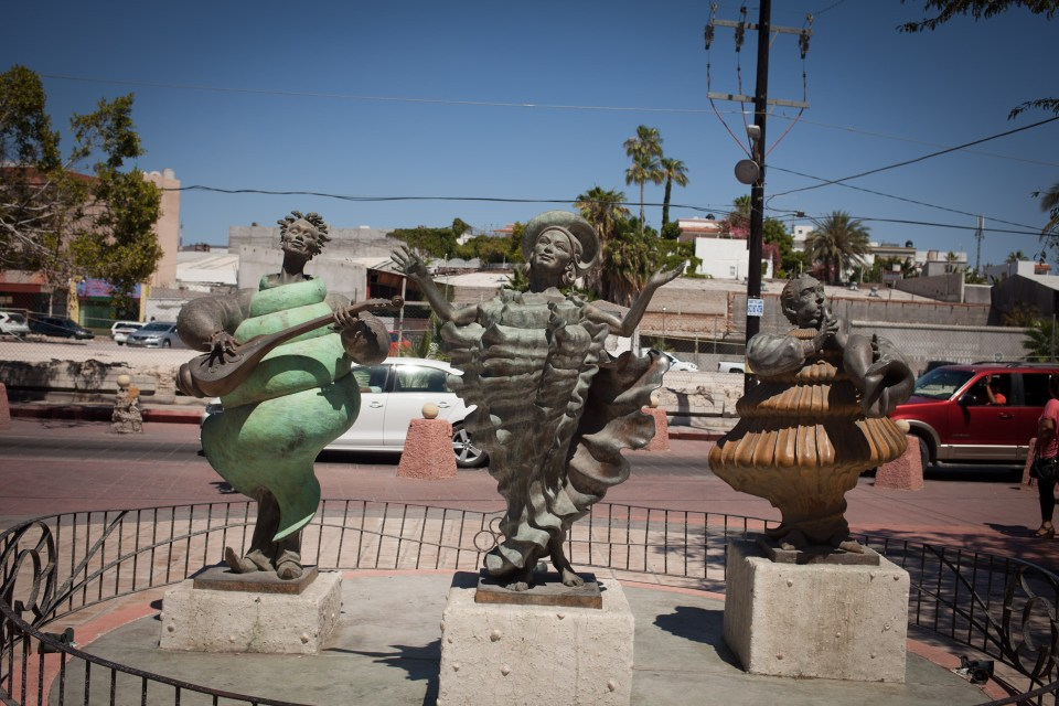 Sculptures on the malecon
