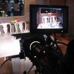 Cámara RED, monitor en interiores. (Foto: Neiron Medina)