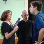 Carmen Maura, Francisco Díaz e Ignacio Castillo