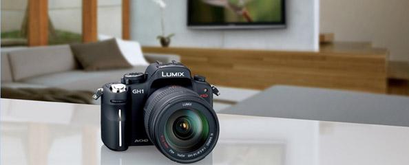 La nueva Lumix GH1 de Panasonic
