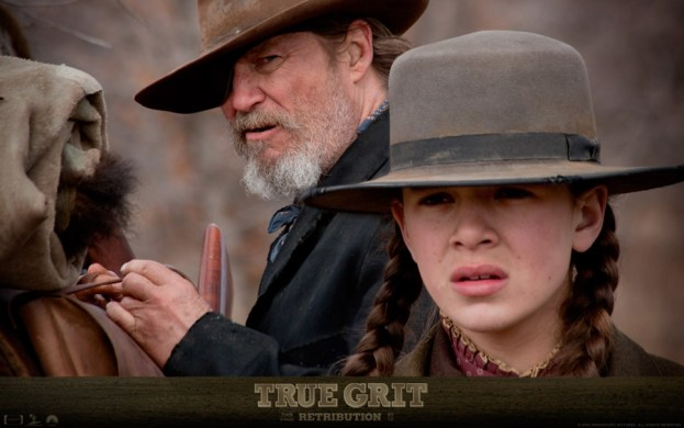 Jeff Bridges y Hailee Stainfeld, en True Grit de los hermanos Coen