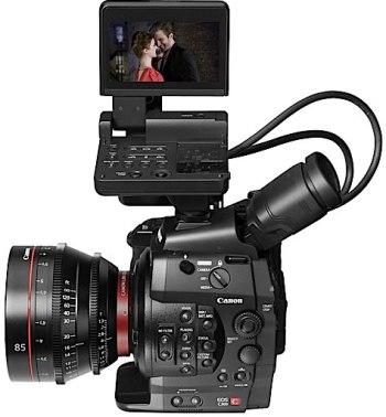 Canon EOS C300, con C de Cine