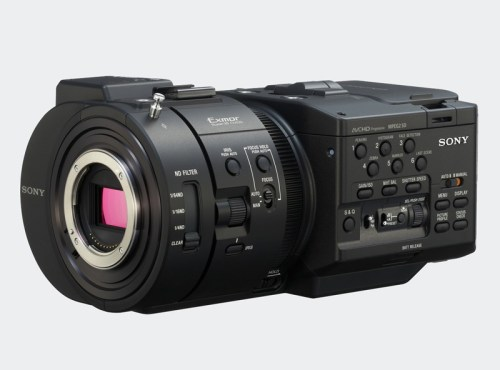 Sony, Nex-FS700, alta velocidad
