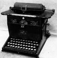 Sholes-Glidden Type-Writer