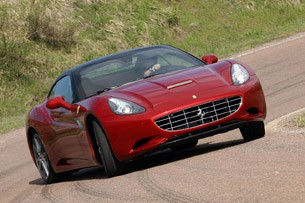 2013 Ferrari California driving