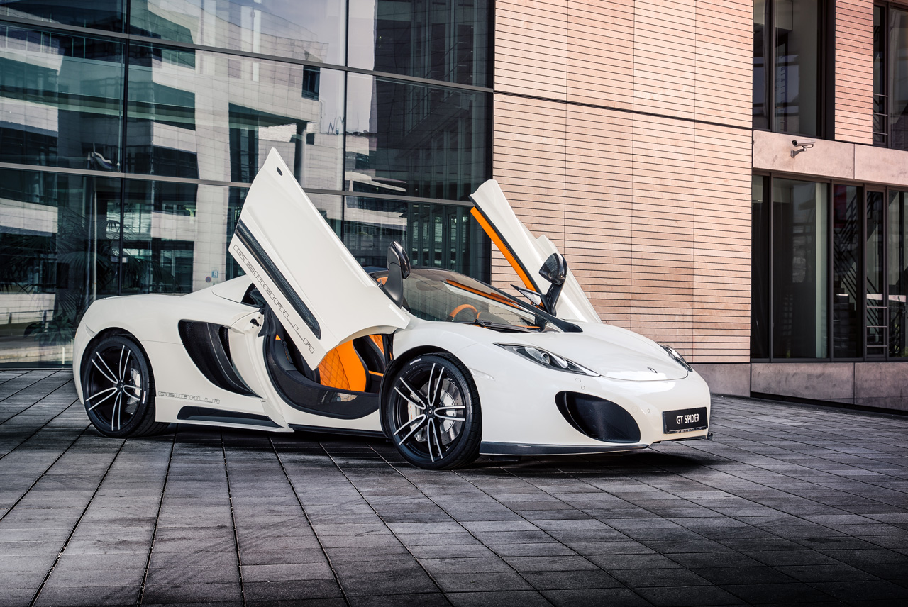 Cars Hd Wallpapers 1080p Lamborghini Mclaren 12c Spider Worked Over By Gemballa Autoblog