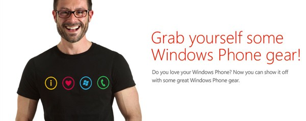 New Windows Phone store lets you wear your 'I heart WP' on your sleeve