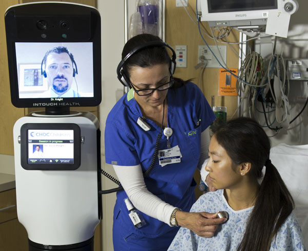 iRobot, InTouch Health announce RPVITA telepresence robot, let doctors phone in bedside manner