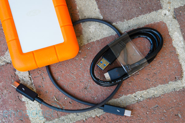 LaCie's Rugged USB 30 Thunderbolt fast portable storage that can take a beating