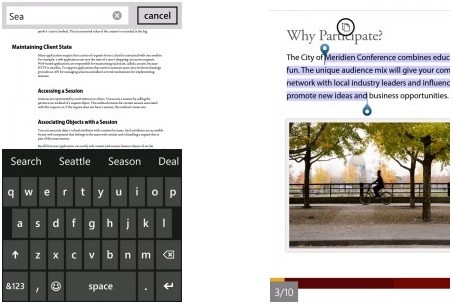 Adobe Reader 101 for Windows Phone brings updated file browser, new search functions and more
