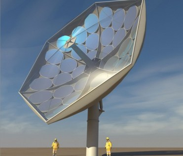 ibm hcpvt solar collector IBM solar collector will concentrate the power of 2,000 suns, keep its cool