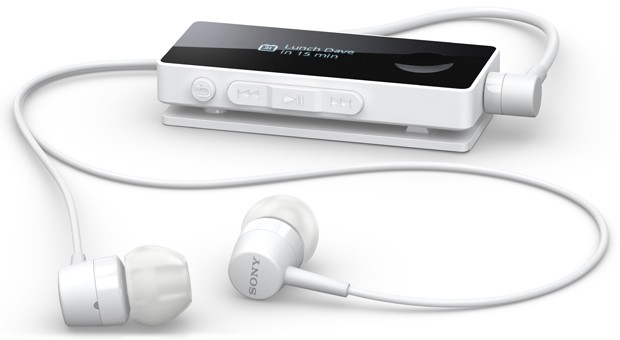 Sony SBH50 Bluetooth headset touts NFC and a smart remote video