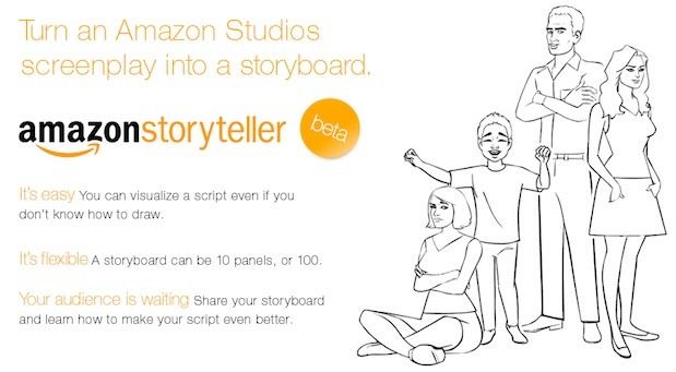 Amazon introduces Storyteller tool to turn scripts into storyboards - script storyboard