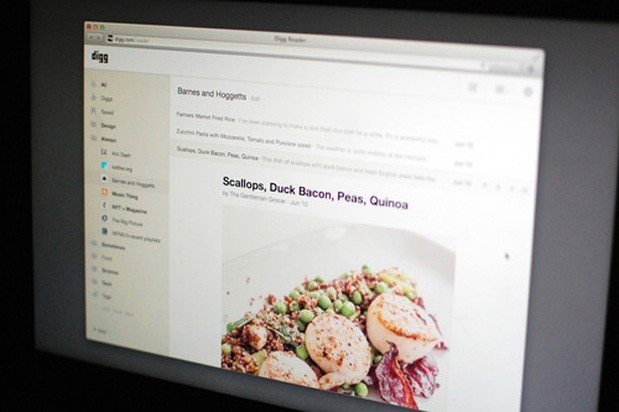 Digg's Google Reader replacement beta access opens on June 25th, friends and family on the 19th