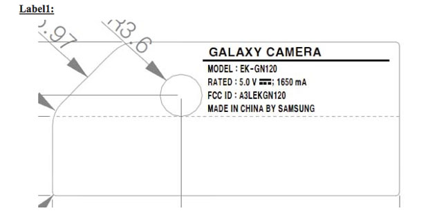 Samsung Galaxy NX mirrorless camera strikes a pose for the FCC