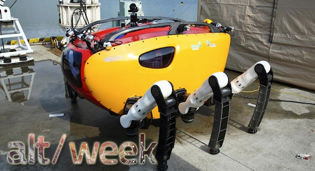 Altweek 8313 giant robot 'crabsters,' walking planes and a year on Mars