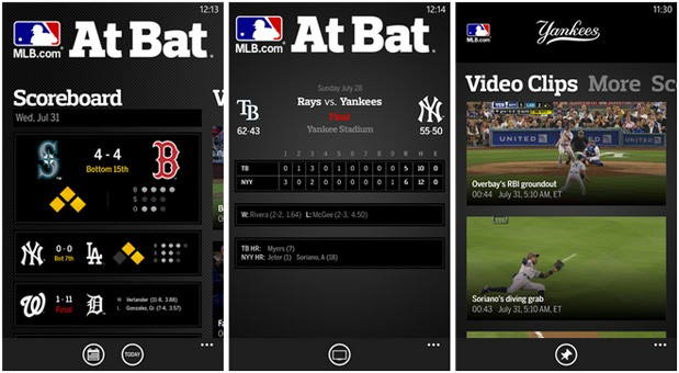 MLB At Bat 13 comes to Windows Phone 8