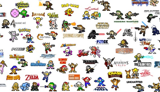 Cfree Cameros Racing Car Wallpapers Two Hundred Video Game Characters Made Into Mega Man Sprites