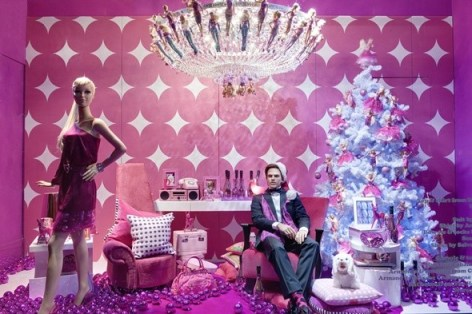 selfridges christmas windows 2010   barbie and ken image 1 Christmas Windows: Selfridges All About Festive Play %tag