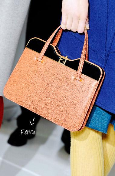 Handbag Fendi SS12
