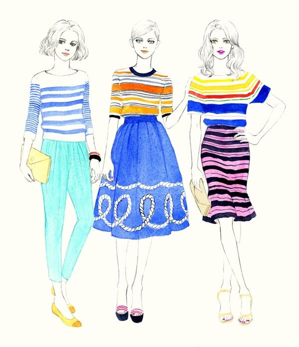 As ilustrações de Teri Chung   Blog da Alice Ferraz