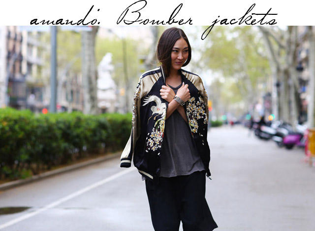Bomber jacket, a jaqueta do momento!