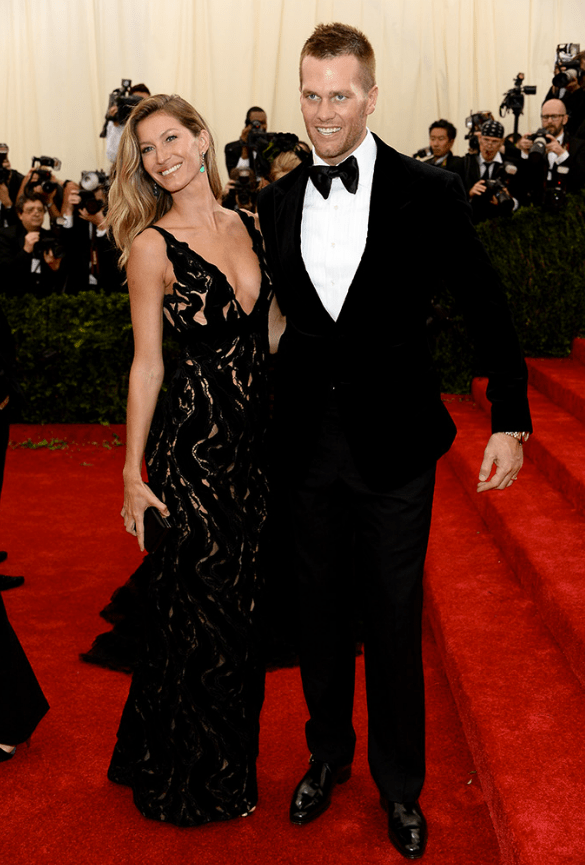 Gisele Bundchen_Balenciaga_Tom Brady in Tom Ford