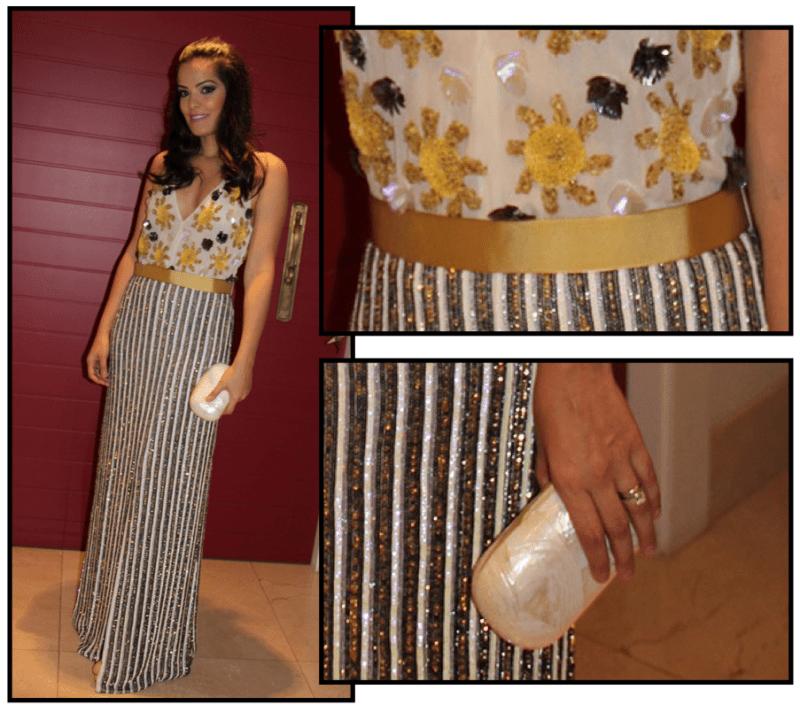 Vestido: Barbara Bela | Clutch: Serpui Marie
