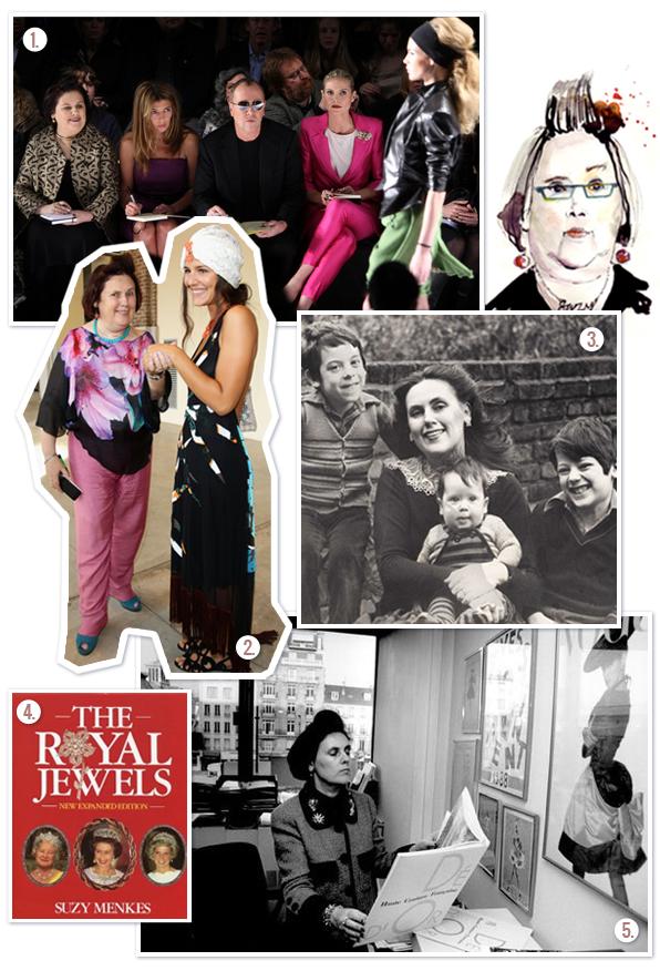 1. Project Runaway |  2. Editorial |  3. COM OS Filhos  | um de seus livros  | 4. Escritório em NYC