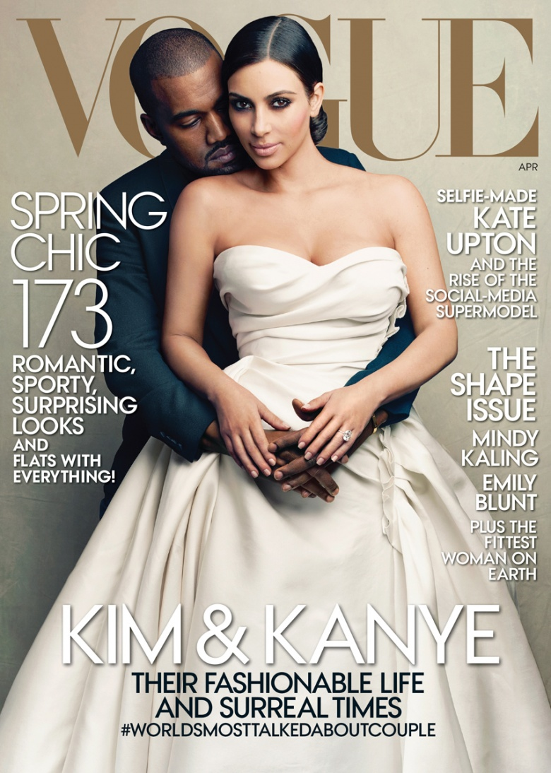 Capa da Vogue USA Abril 2014
