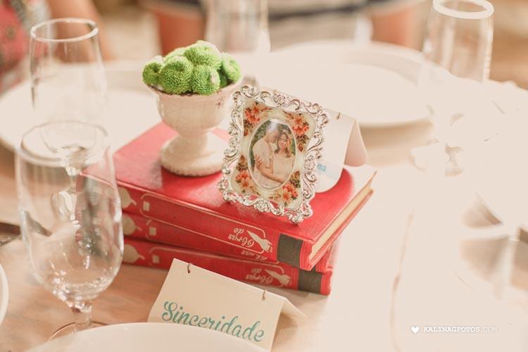 casamento romântico - livros