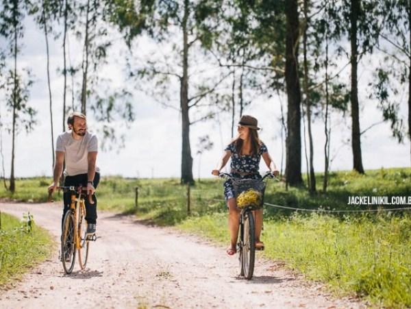 Ensaio de Casal - bicicleta
