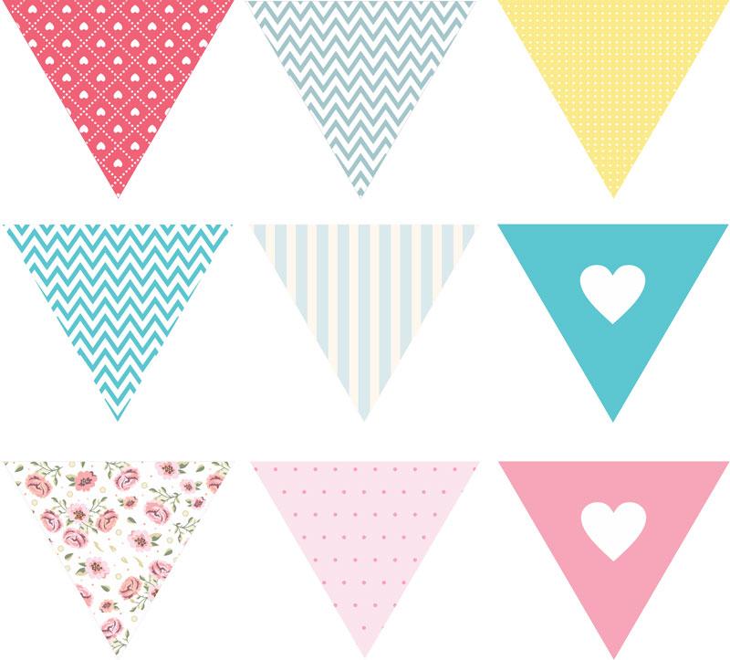 bandeirinhas decorativas para baixar - modelos grátis - blog do casamento