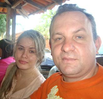 Prefeita Lidiane Rocha e o ex-secretário Beto Rocha
