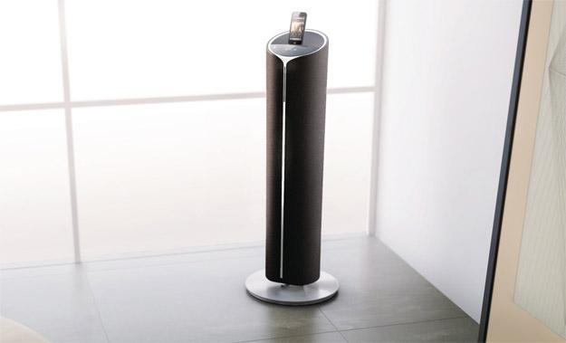 dtm5096 colonne philips fidelio avec double station d accueil blogeek. Black Bedroom Furniture Sets. Home Design Ideas