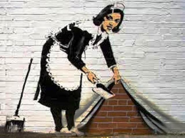 """La """"pared española"""" (""""spanische wand""""  en los países de habla germana)"""
