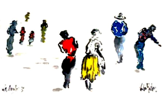 Un dibujo de Tere Vila-Matas.