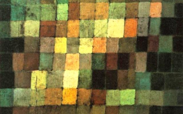 Sonido Antiguo, Abstracto en Negro (1925) PAUL KLEE